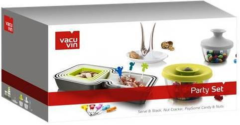 CX OFERTA P/ PARTY SET VACUVIN