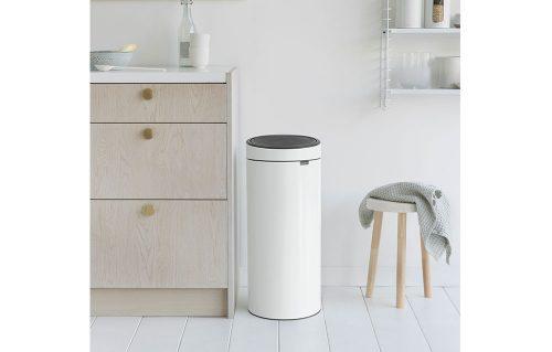 balde para lixo touch bin 30 litros brabantia
