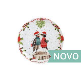 PRATO POSTAL 12 CM CHRISTMAS LOVE SPAL