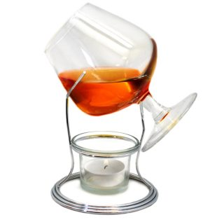 suporte para cálice cognac vin bouquet