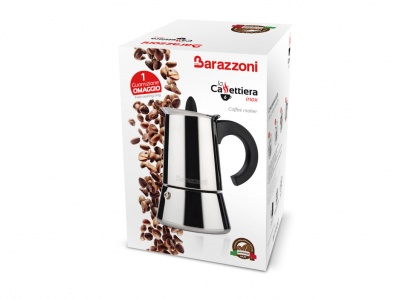 cafeteira inox la caffettiera barazzoni