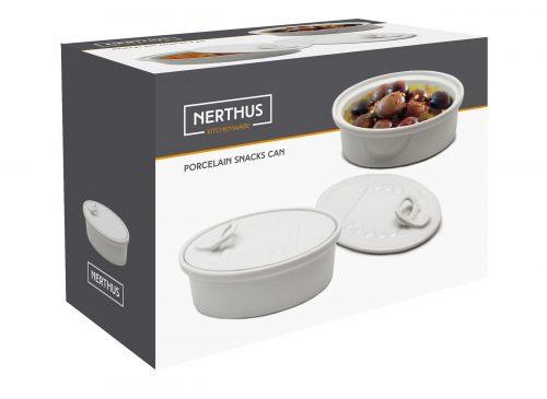 caixa de conserva em porcelana para aperitivos nerthus