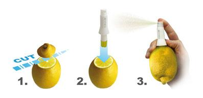 citrus spray vin bouquet