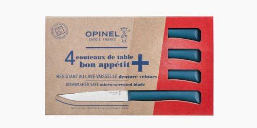conjunto 4 facas bife bon apétit opinel