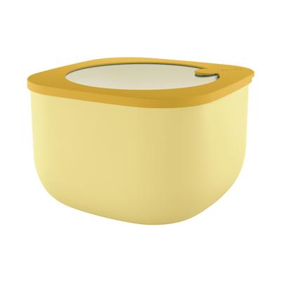 caixa hermética amarela alta store & more guzzini