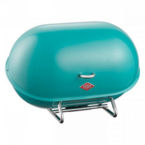 caixa do pão single breadboy azul turquesa wesco