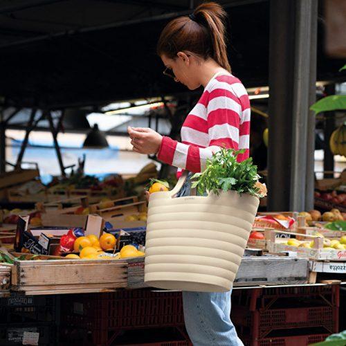 saco bolsa ecobeach argila guzzini