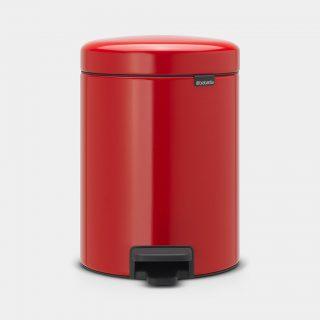 balde lixo 5 lts vermelho new icon brabantia
