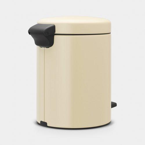balde lixo 5 lts amêndoa new icon brabantia