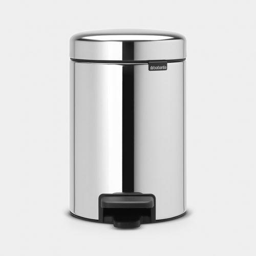 balde lixo 3 lts brilhante new icon brabantia