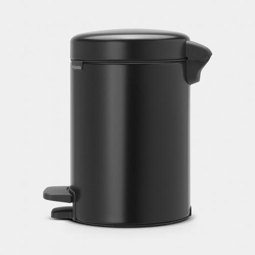 balde lixo 3 lts preto mate new icon brabantia