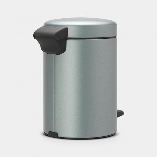 balde lixo 3 lts menta metálico new icon brabantia