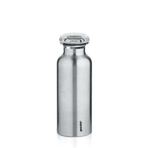 garrafa térmica inox 330 cc aço mate guzzini