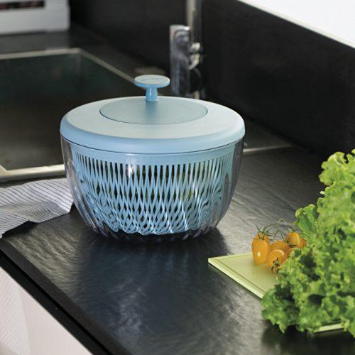 centrifugadora 26 cm azul mate pin & store gizzini