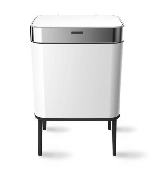 balde lixo branco 60 lts com sensor wd