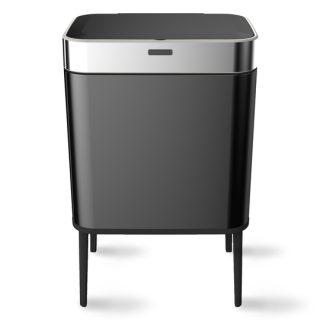 balde lixo preto 60 lts com sensor wd