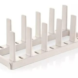 suporte para frigideiras flexispace tescoma
