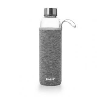 garrafa vidro 750 ml com capa ibili