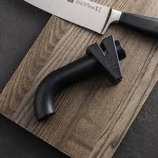 afiador facas preto twinsharp zwilling