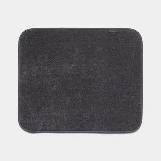 tapete escorredor microfibras cinza escuro brabantia