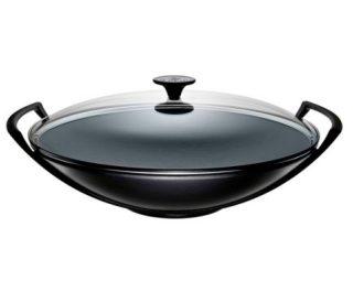 wok tradition 36 cm le creuset vianainox